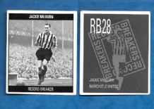Newcastle United Jackie Milburn England RB28